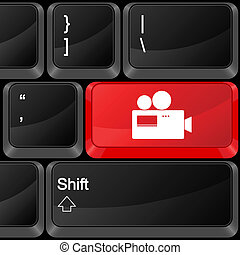 computer button camera