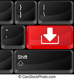 computer button download