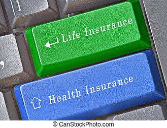 Keyboard for insurance