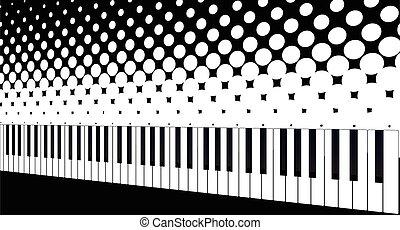 Keyboard Halftone