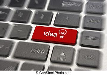 Keyboard - Idea keyboard button