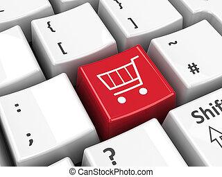 Keyboard shopping key