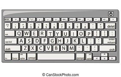 Keyboard vector illustration