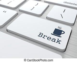 Keyboard with Break Button.
