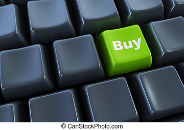 keyboard with buy button