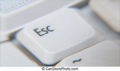 keyboarding, clã©, évasion
