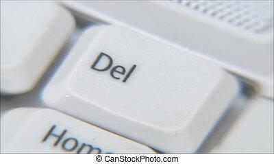 keyboarding , key Delete