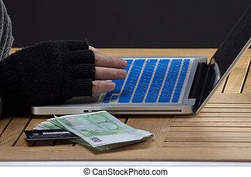 keybord, hackers, manos
