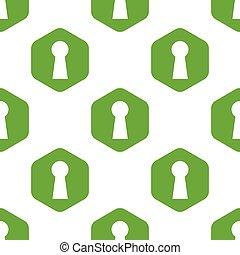 Keyhole pattern