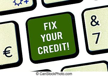 keypad, foto, credit., equilíbrios, apertando, teclado,...