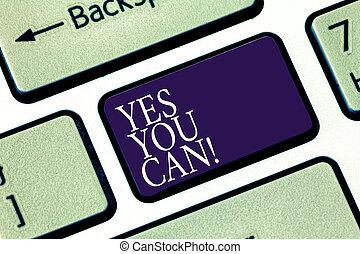 keypad, foto, encorajamento, apertando, teclado, mensagem,...