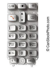 Keypad of mobile phone