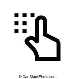 keypad  pixel perfect icon