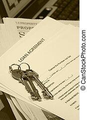 Keys - And loan agreement
