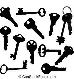 Keys collection - vector