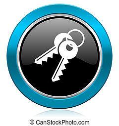 keys glossy icon