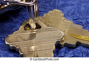 Keys - Macro Photo of a Key
