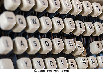Keys Of Old Typewriter 2