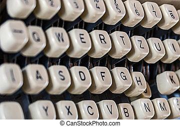Keys Of Old Typewriter 2