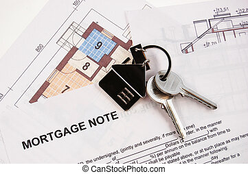 Keys on mortgage note