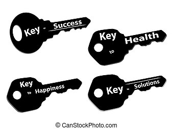 keys success happiness solutions health
