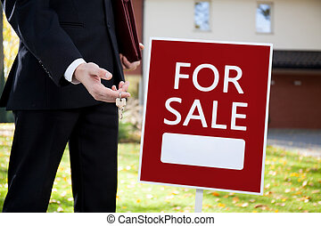 Keys to home for sale