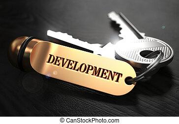 Keys with Word Development on Golden Label.