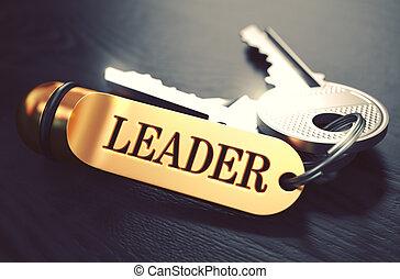 Keys with Word Leader on Golden Label.