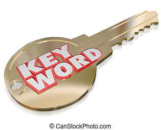 Keyword Gold Key Password Security Optimizaiton Access