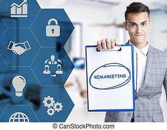 keyword:, tecnología, internet, remarketing, concept.,...