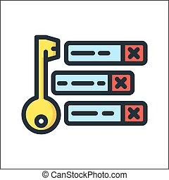 keywording tool icon color
