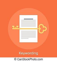 Keywording