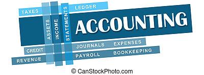 keywords, azul, contabilidad, rayas
