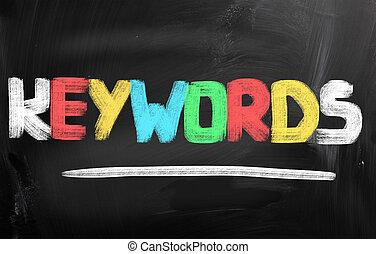 keywords, conceito