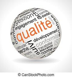 keywords, esfera, calidad, francés