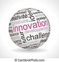 keywords, esfera, tema, francés, innovación