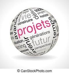 keywords, esfera, tema, proyectos, francés