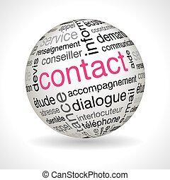 keywords, glob, tema, kontakta, fransk