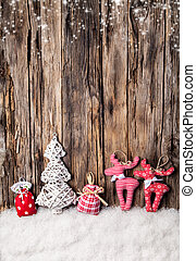 kezezés gyártmány, hagyományos, christmas dekoráció, képben...