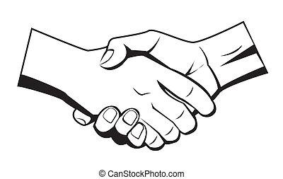 kezezés reszkető