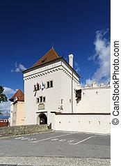 Kezmarok castle in northen Slovakia