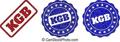 KGB Scratched Stamp Seals