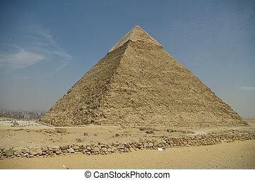 khafre's, piramide, giza