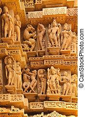 khajuraho, kunst