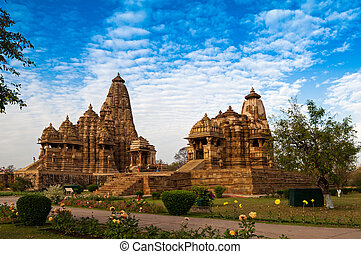 khajuraho, mahadeva, índia, kandariya, herança, unesco,...