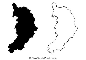 Khakassia map - Khakassia (Russia, Subjects of the Russian ...