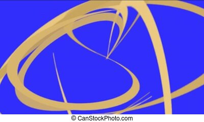 Khaki helix lines, spiral lines pattern.