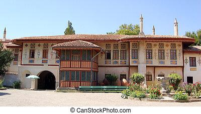 khan's, bakhchisaray, palota