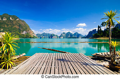 khao, sok, nationalparken, thailand