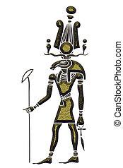 Khensu - God of ancient Egypt - Image of the Khensu - God of...